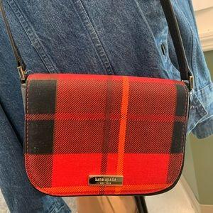 Kate Spade Newbury Lane Plaid Crossbody Bag